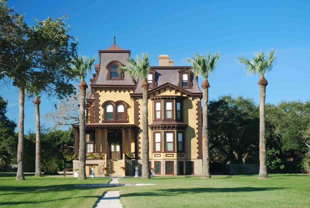 Visiting  Fulton Mansion State Historic Site is one of the best things to do in Rockport TX