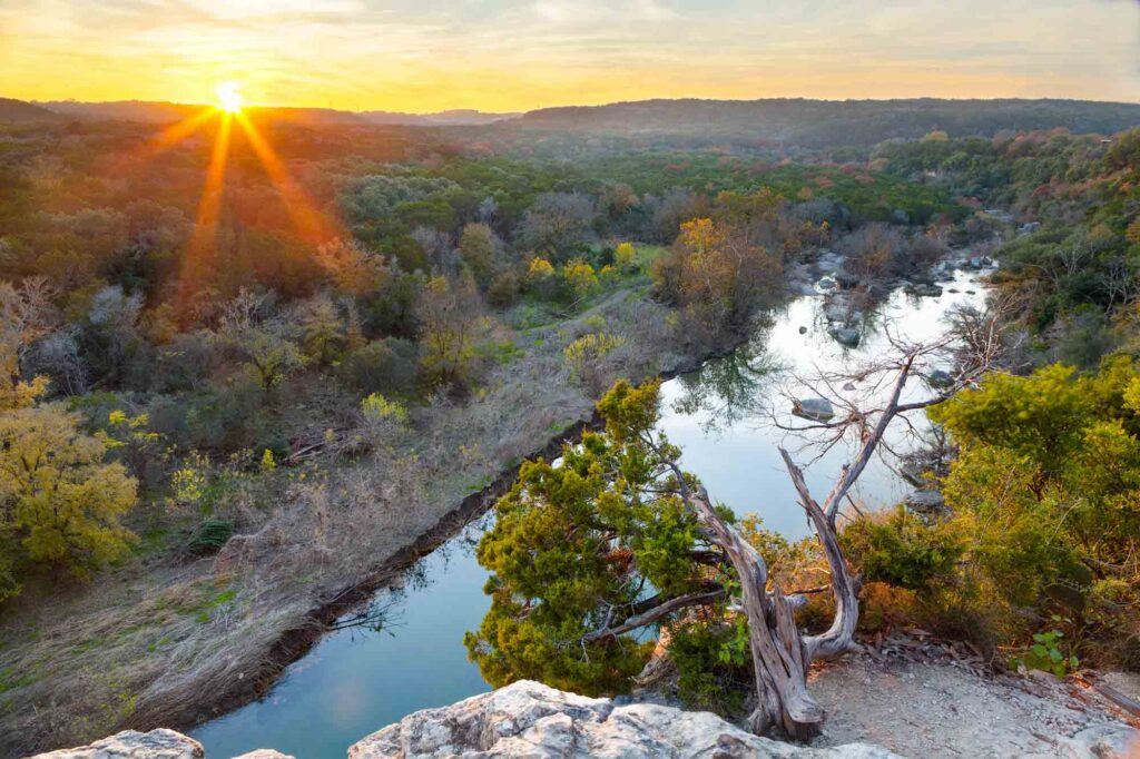 Barton Creek Greenbelt Trail is one of the best places to hike in Austin