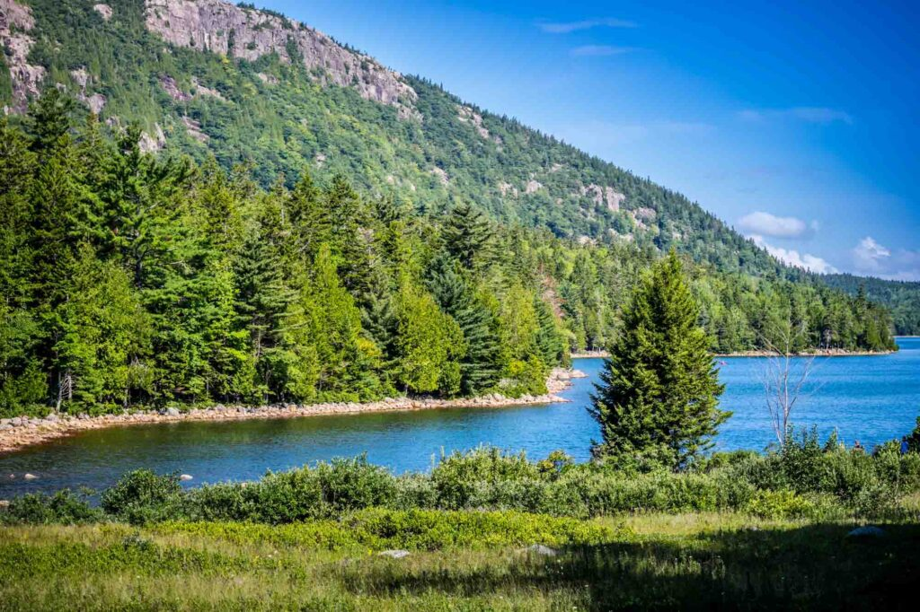 Jordan Cliffs Trail is one of the best hikes in Acadia National Park