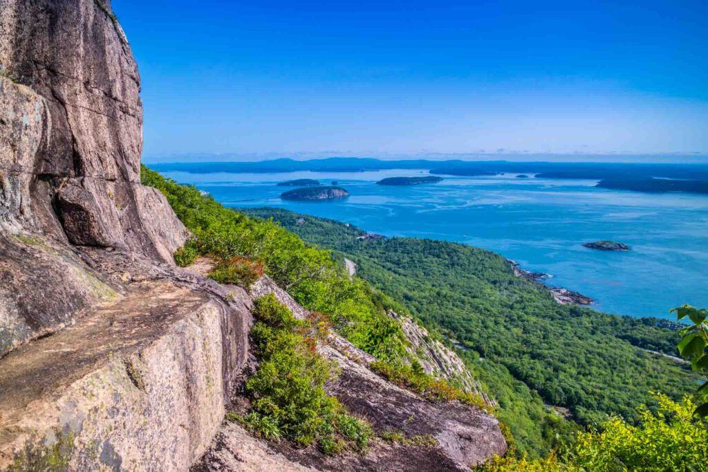 Precipice Trail is one of the best hikes in Acadia National Park