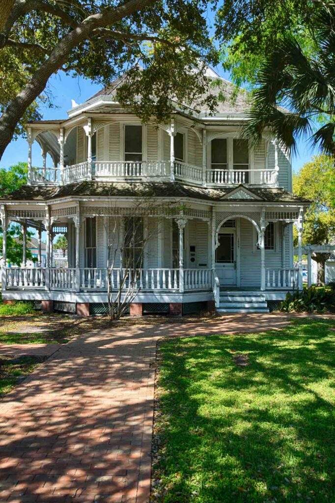 Visiting Britton-Evans House and Sidbury House is one of the fun things to do in Corpus Christi, TX