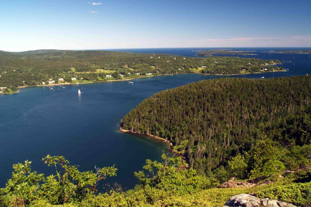 Acadia Mountain Trail is one of the best hikes in Acadia National Park