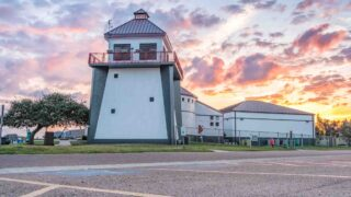 Learning at the Texas Maritime Museum is one of the fun things to do in Rockport TX
