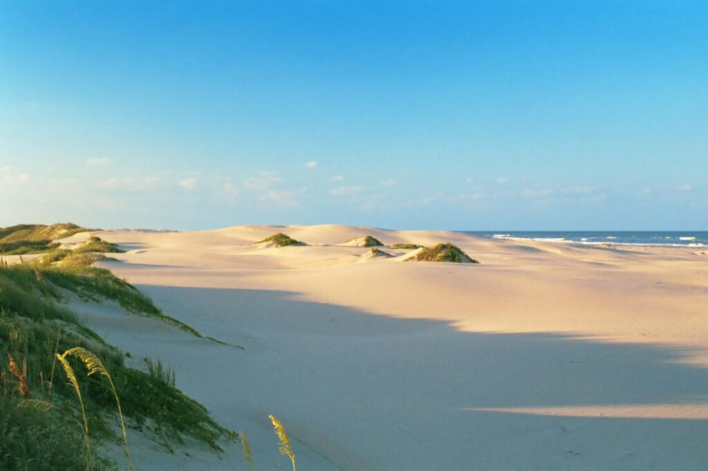 Sleeping under the stars at the South Padre Sand Dunes is one of the best things to do on South Padre Island, TX