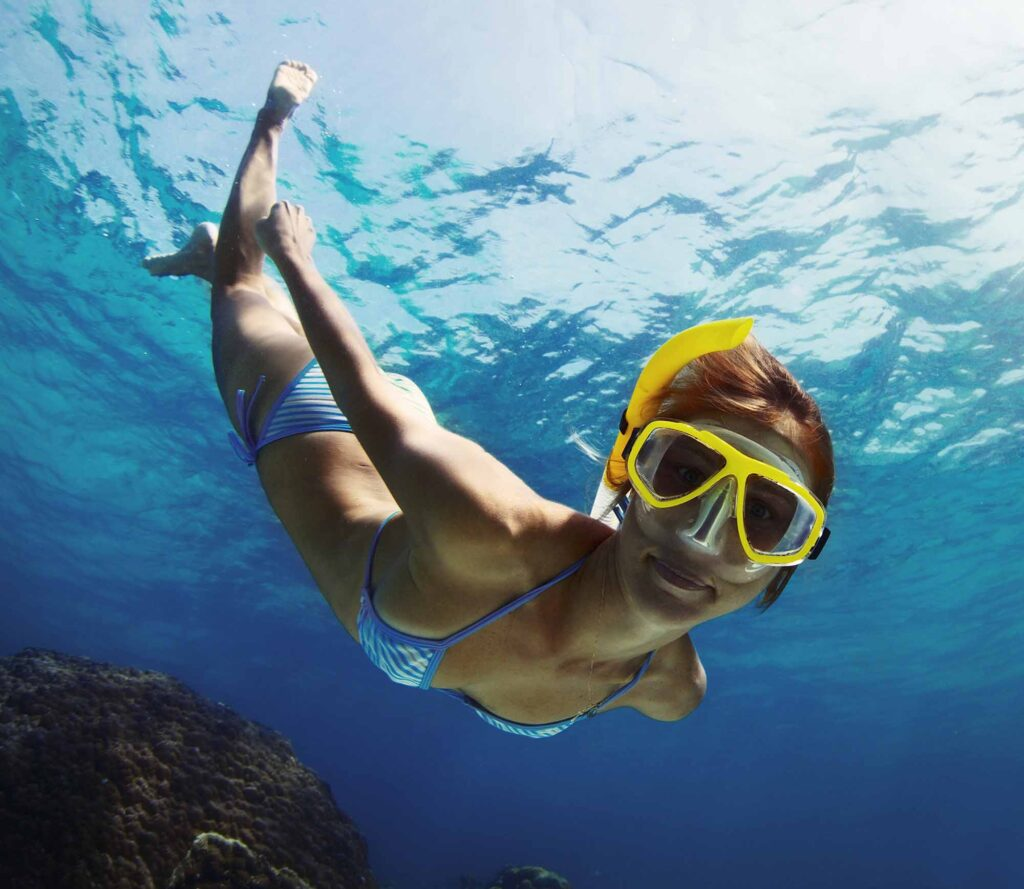 Snorkeling is one of the fun activities to do on South Padre Island, TX