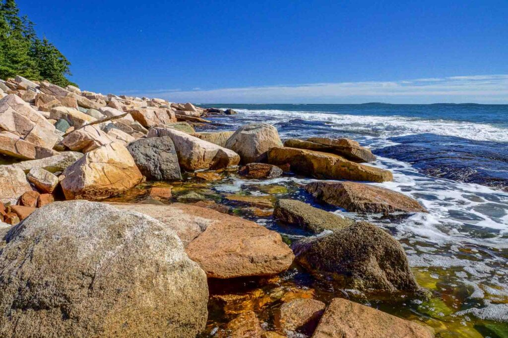 Wonderland Trail is one of the best hikes in Acadia National Park