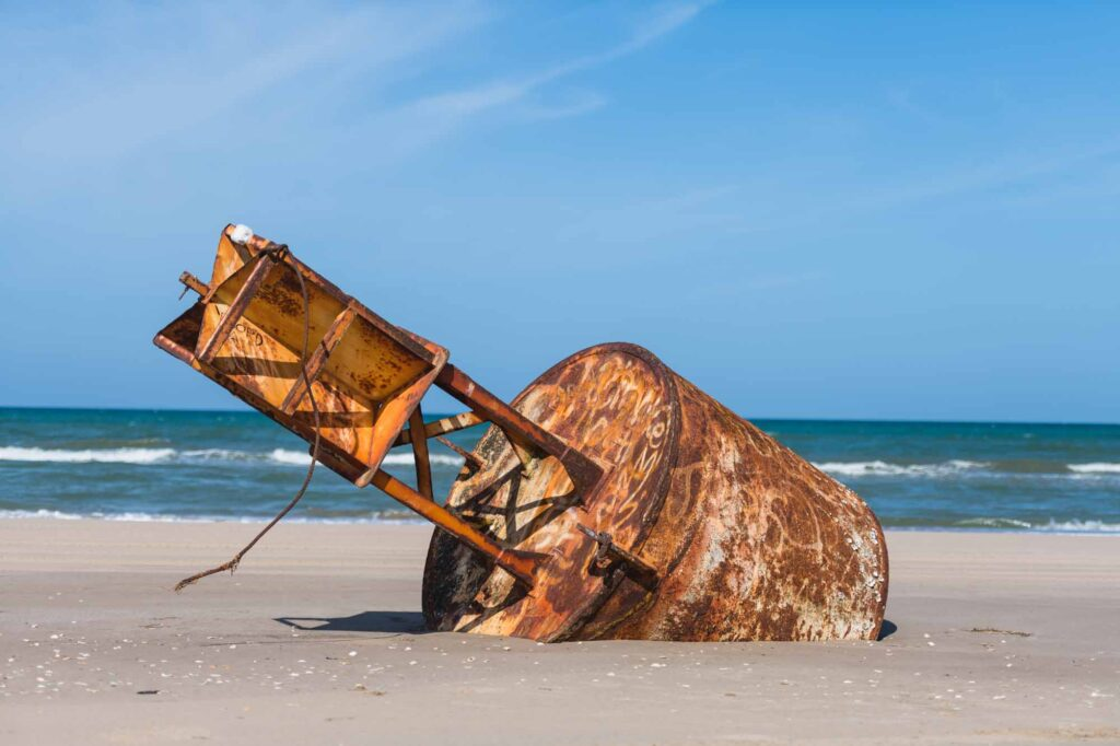 Exploring a Shipwreck is one of the fun things to do on South Padre Island, TX