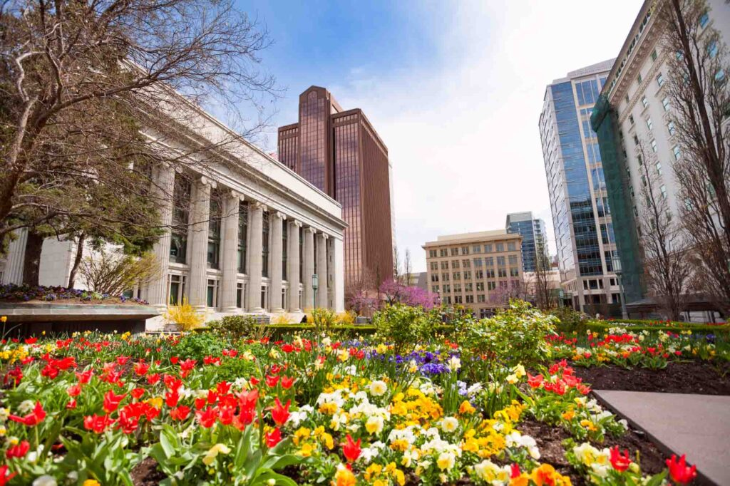 Salt Lake City, Utah is one of the most romantic getaways in the United States for couples