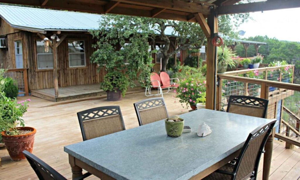 Coolview Cabin is one of the best cabins in Wimberley, Texas