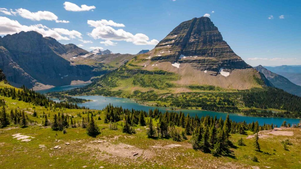 Hidden Lake Overlook is one of the best hikes in Glacier National Park
