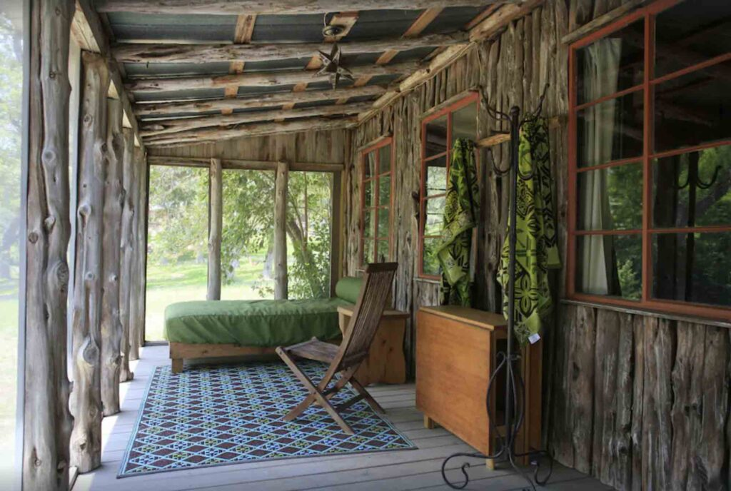 This  Mas Suerte Wimberley Texas is one of the best cabins in Wimberley, Texas