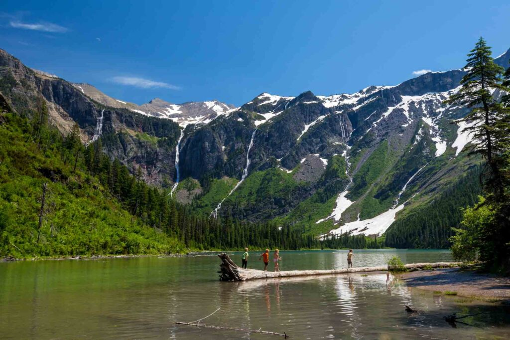 Avalanche Lake is one of the best hikes in Glacier National Park