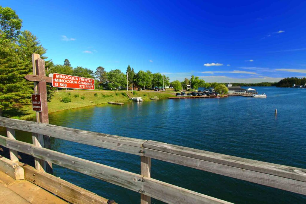 Minocqua, Wisconsin is one of the most romantic getaways in the United States