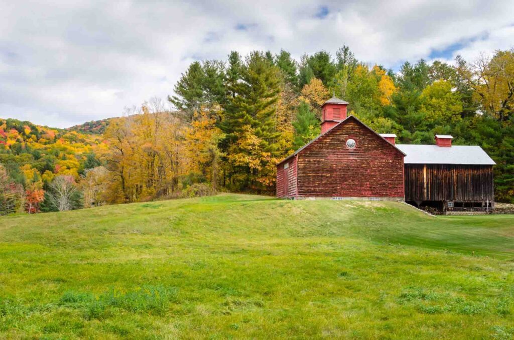 The Berkshires, Massachusetts is one of the most romantic getaways in the United States for couples