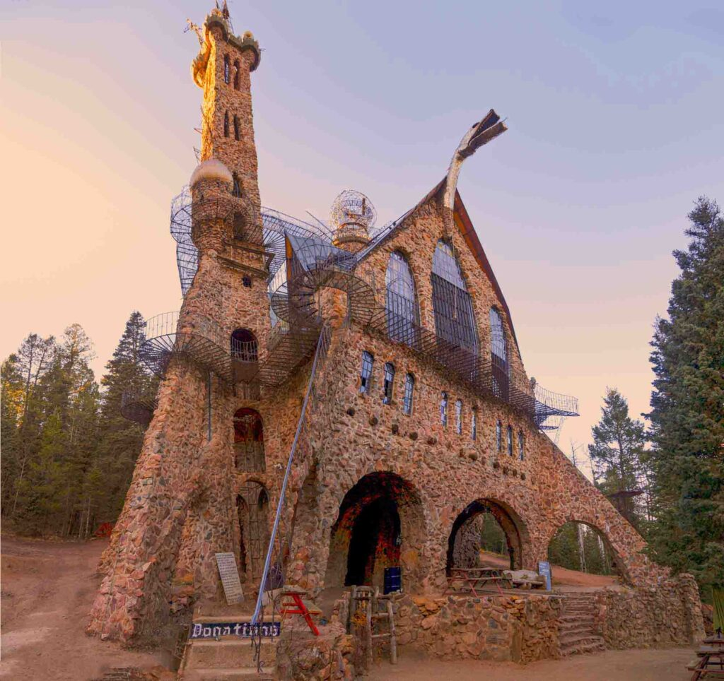 Bishop Castle is one of the day trips from Denver, Colorado