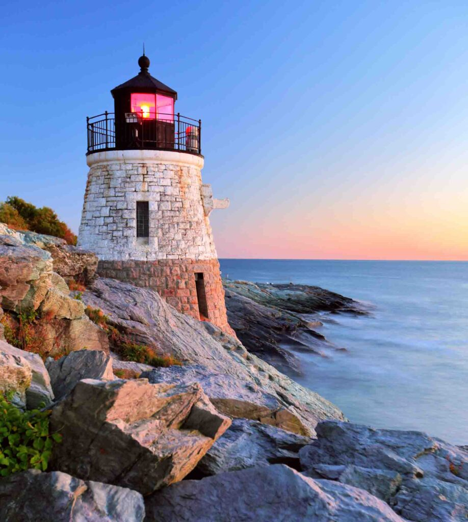Newport, Rhode Island is one of the best summer vacations in the USA