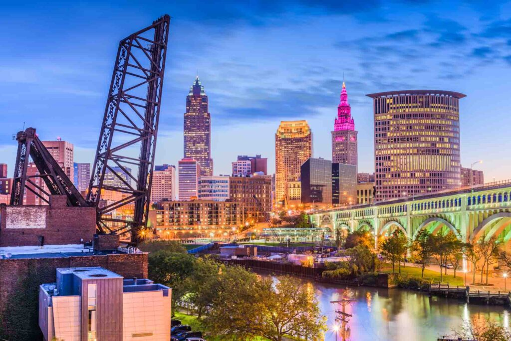 Cleveland, Ohio is one of the most romantic getaways in the United States for couples