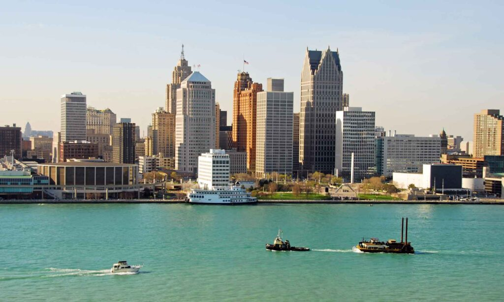 Detroit, Michigan is one of the best summer vacations in the USA