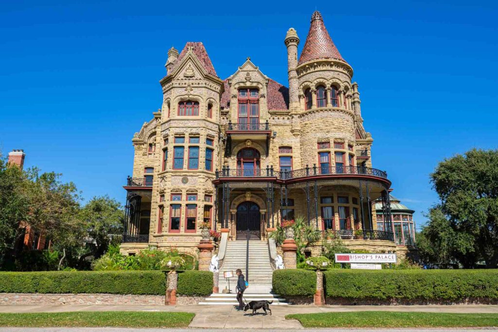 Visiting Bishop's Palace is one of the best things to do in Galveston, TX