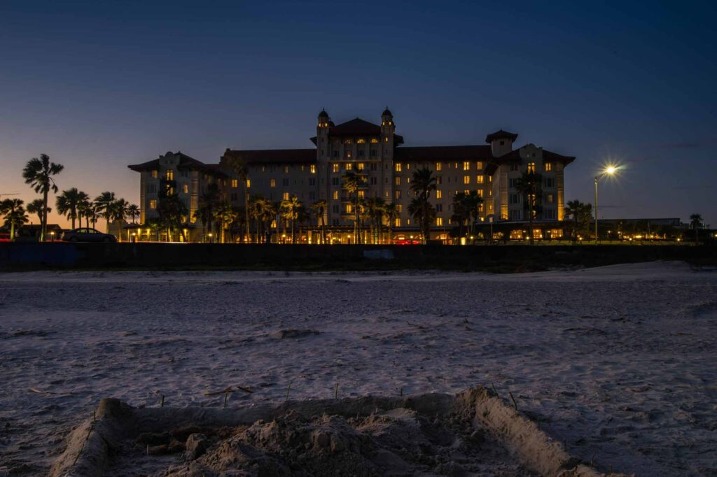 Visiting Galveston's most haunted Hotel is one of the thrilling things to do in Galveston, TX