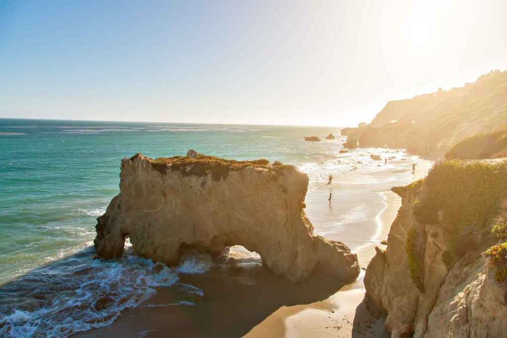 Malibu, California is one of the most romantic getaways in the United States