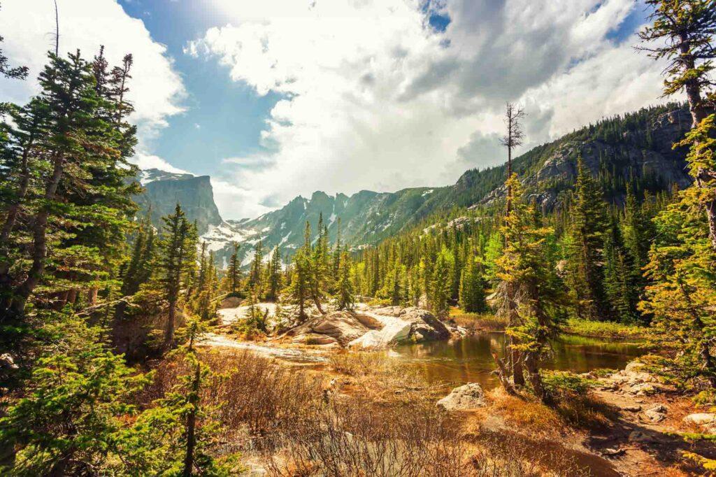 Estes Park, Colorado is one of the day trips from Denver, Colorado