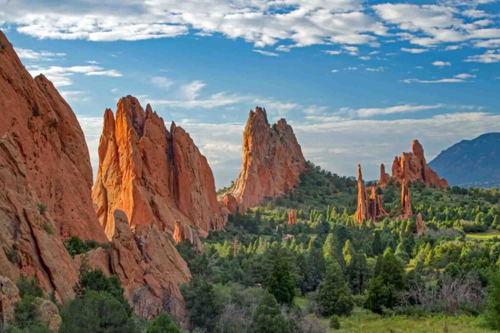 Garden of the Gods is one of the day trips from Denver, Colorado