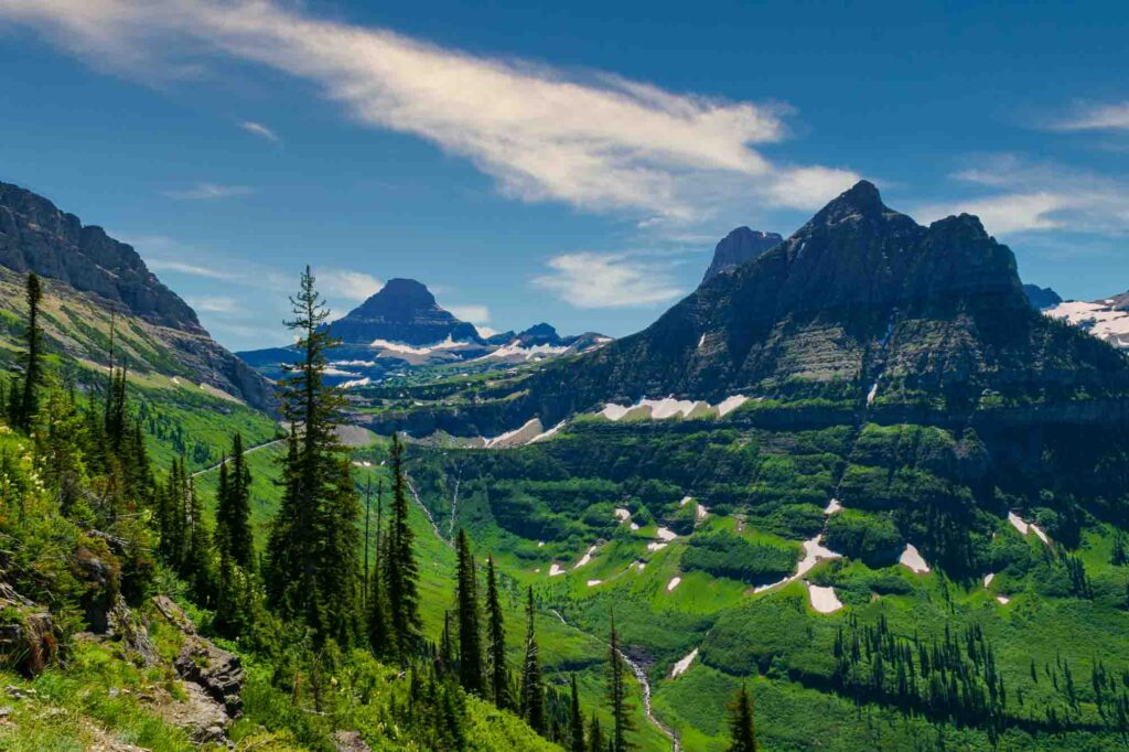 Granite Park via Highline Trail is one of the best hikes in Glacier National Park