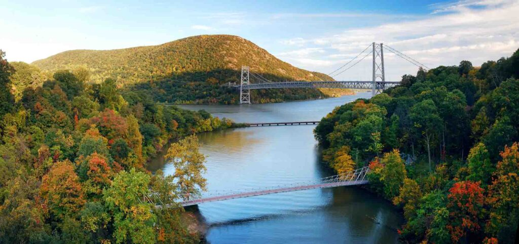 Hudson Valley, New York is one of the most romantic getaways in the United States
