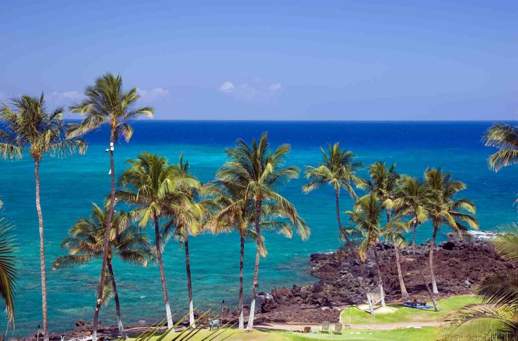 Kona, Hawaii is one of the most romantic getaways in the United States