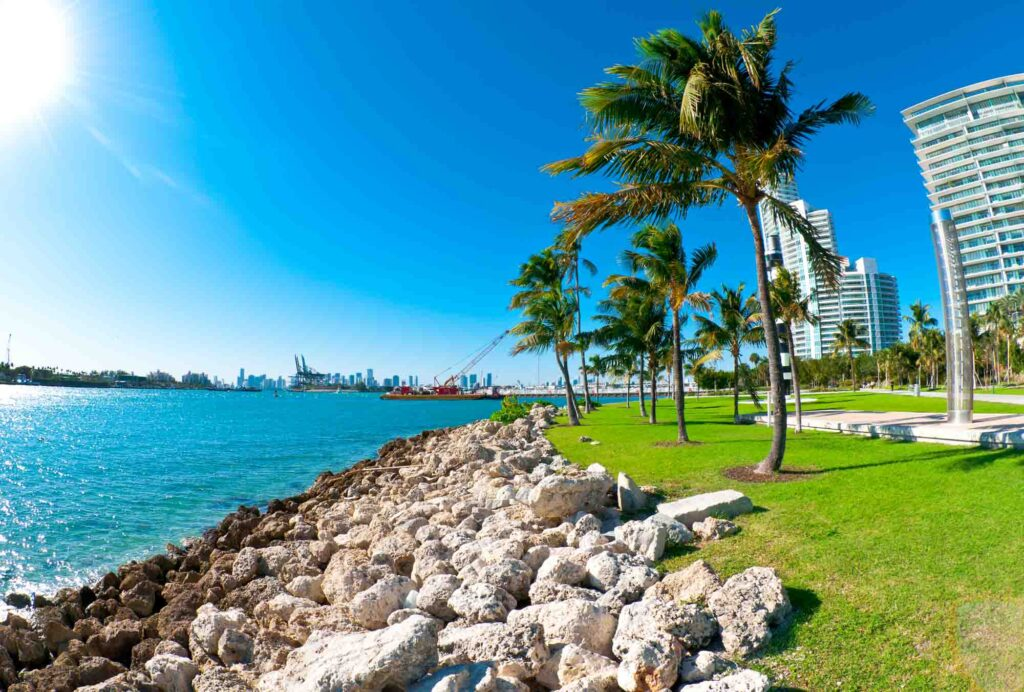 Miami, Florida is one of the most romantic getaways in the United States