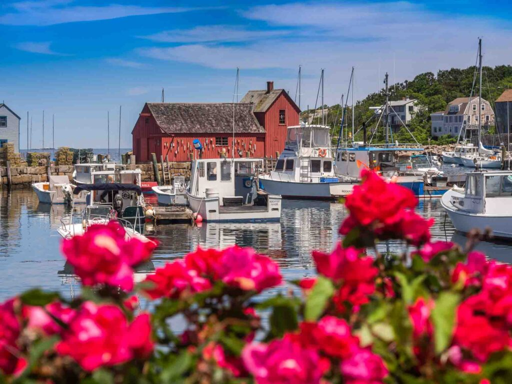 Rockport, Massachusetts is one of the most romantic getaways in the United States for couples