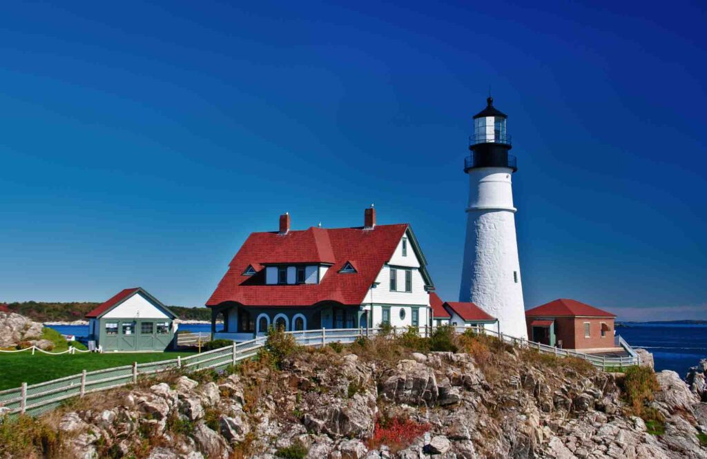 Portland, Maine is one of the best summer vacations in the USA