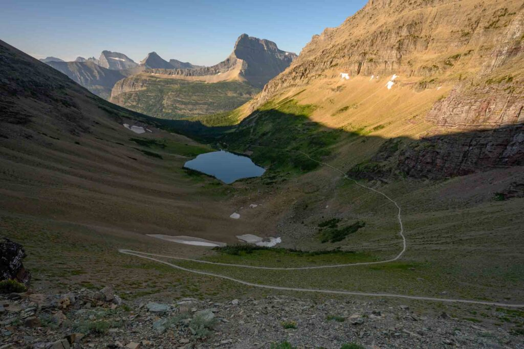 Ptarmigan Lake Trail is one of the best hikes in Glacier National Park