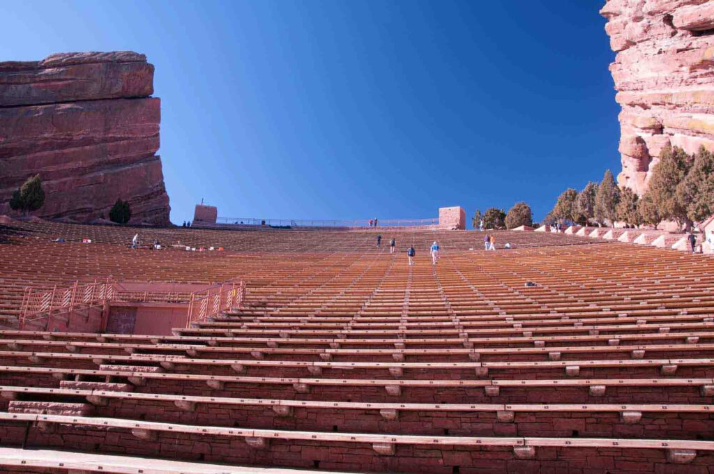 Red Rocks Park and Amphitheater is one of the best day trips from Denver