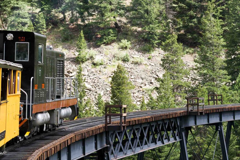 Georgetown Loop Railroad and Mining Par is one of the day trips from Denver, Colorado