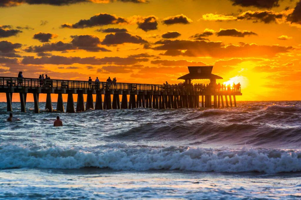 Naples, Florida is one of the most romantic getaways in the United States