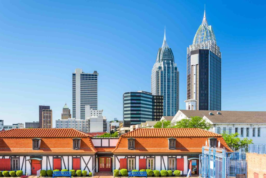 Mobile, Alabama is one of the most romantic getaways in the United States