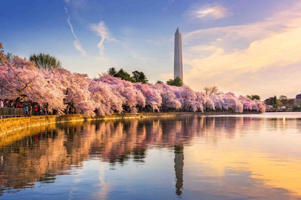 Washington, D.C. is one of the most romantic getaways in the United States