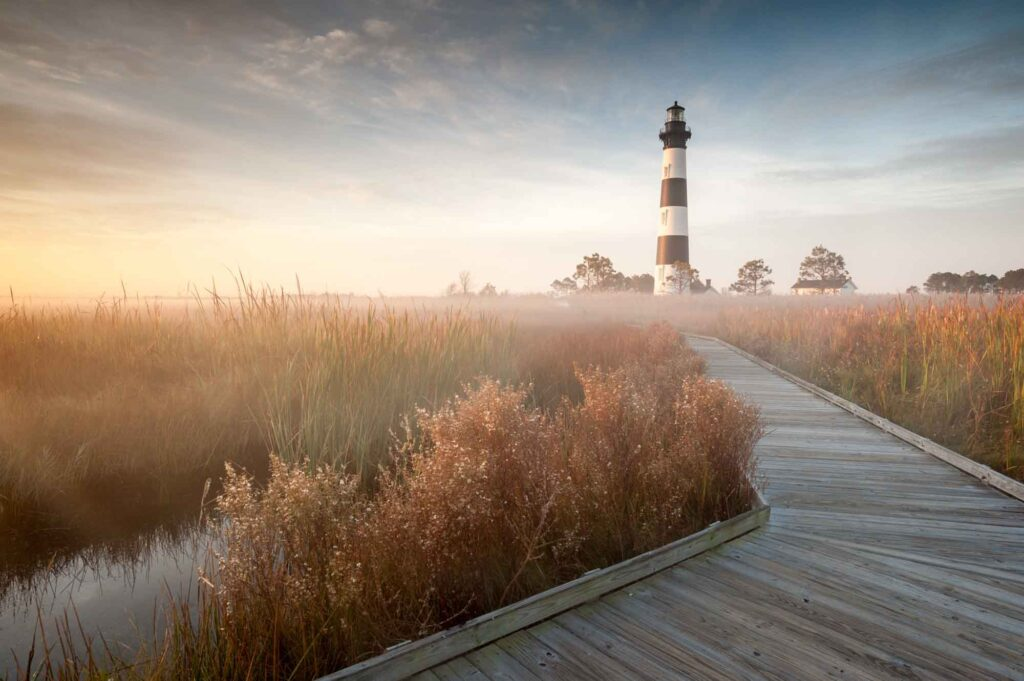 Hatteras is one of the cool US destinations