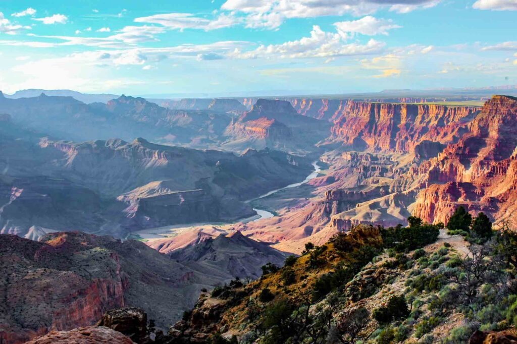 Grand Canyon National Park is one of the places to visit in the US