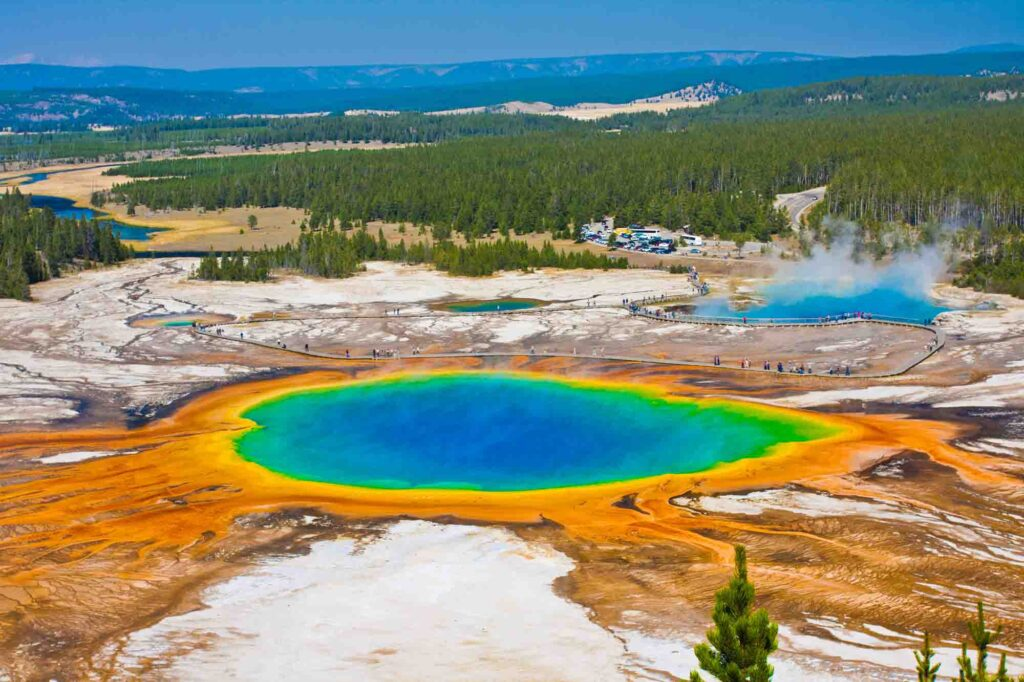 Yellowstone National Park is one of the best places to visit in the US