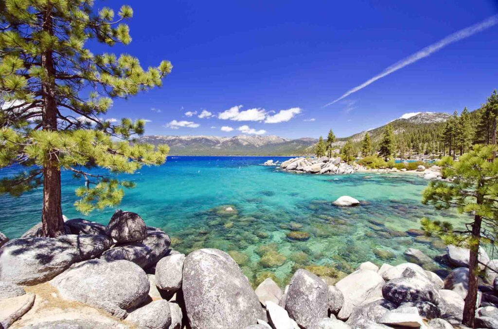 Lake Tahoe is one of the best places to visit in the US