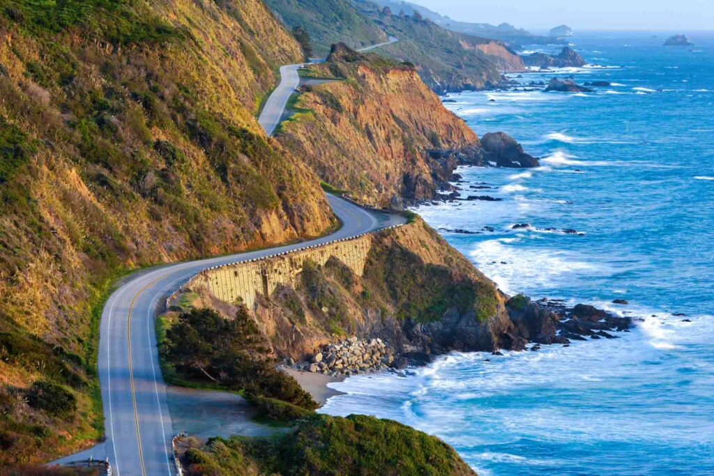Big Sur is one of the places to visit in the US