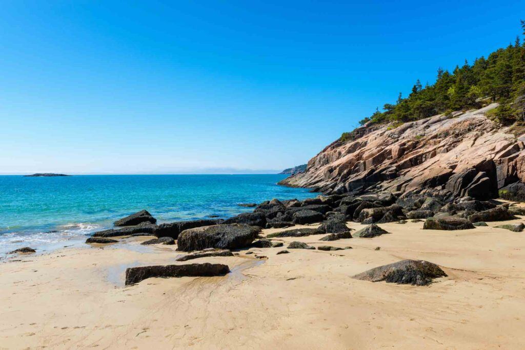 Sand Beach is one of the US destinations not to miss