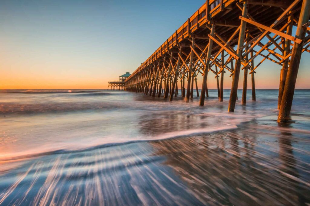 Folly Beach is one of the beautiful places to visit in the US