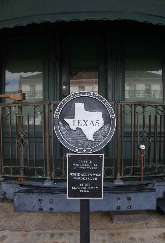 Visiting the Luxury Train Car of a Railroad Baron is one of the fun things to do in Jefferson, TX