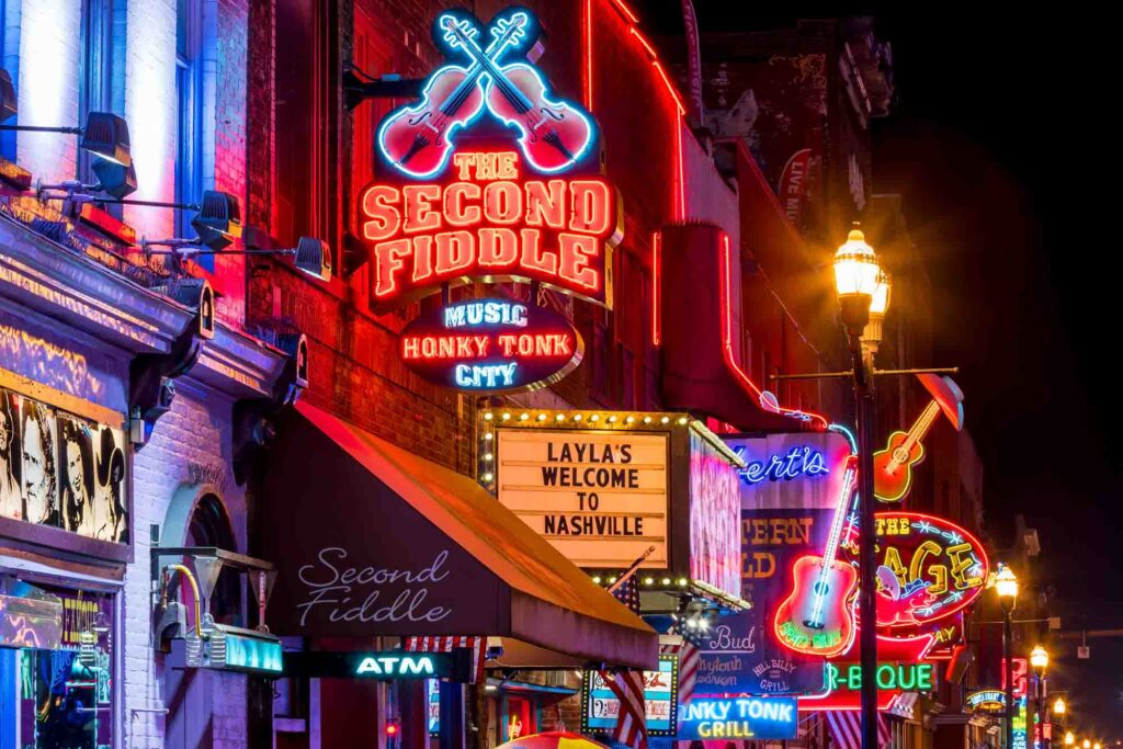 Nashville is one of the best places to visit in the US