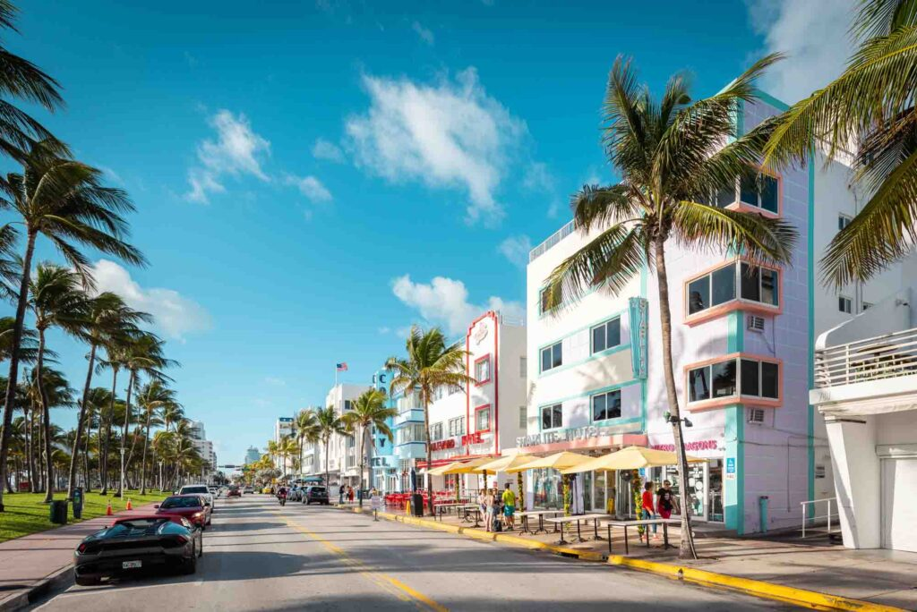 Miami is one of the best places to visit in the US