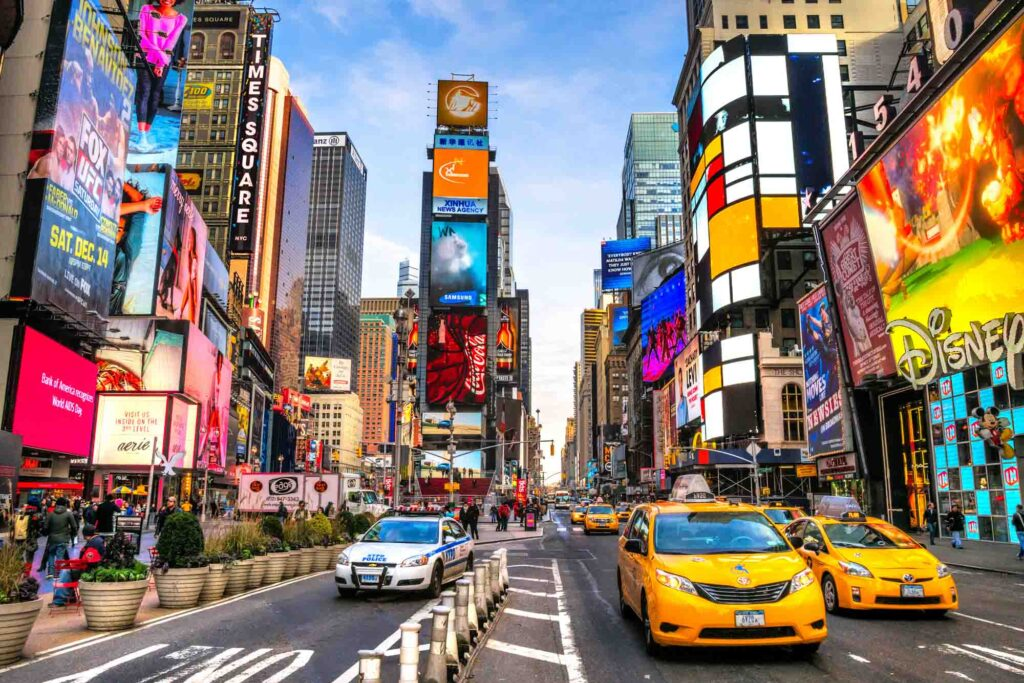 New York is one of the best places to visit in the US